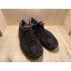 Mens Diesel Shoes Black Size 9.5 Sku:30